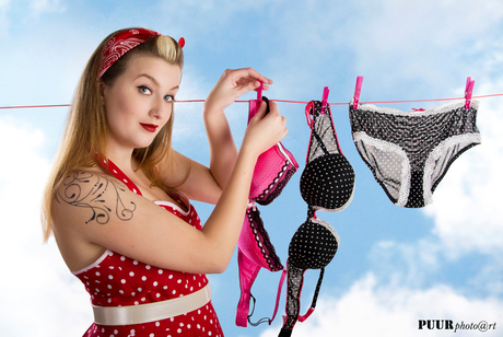 Pin up: the laundry