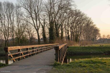 Fiets- voetgangersbrug