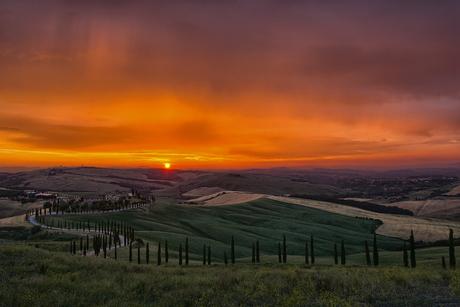 lucht in Toscane