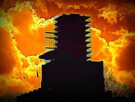Utrecht in vuur en vlam