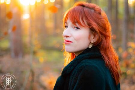 Kissed by the sun - Model Janneke - foto door Skuld op 06-03-2021 - deze foto bevat: vrouw, herfst, portret, model, daglicht, beauty, fotoshoot