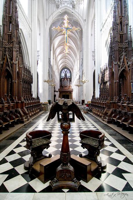 Kathedraal in Antwerpen