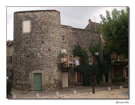 Knus huisje in Ruoms - Frankrijk