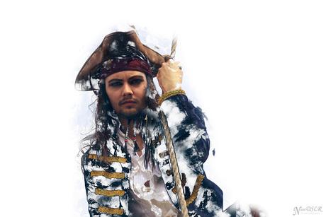 Cpt. Jack Sparrow modern art