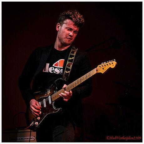 Guy Smeets (Phil Bee's Freedom) @ Southern Bluesnight 2019 in Heerlen.