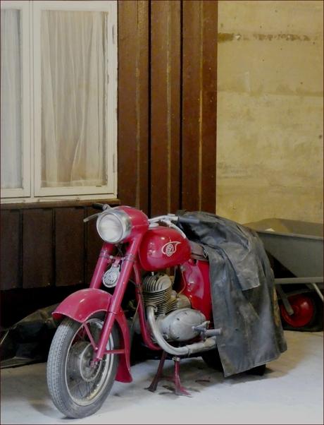 De oude motor