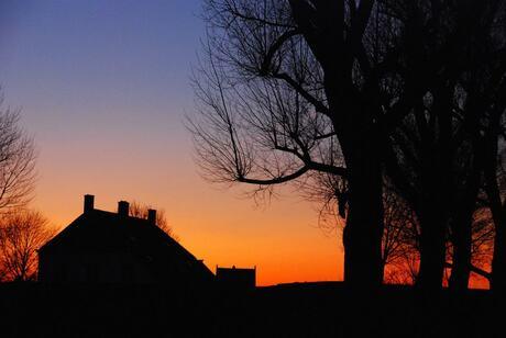 een mooie avond