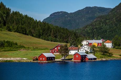 kleurig Noorwegen