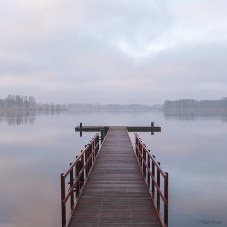 Fresh start - A fresh start today The first Monday of a new month, let's go for it. - foto door Tannie op 01-03-2021 - deze foto bevat: lucht, wolken, water, natuur, spiegeling, landschap, meer