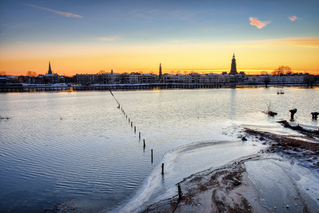 Hoogwater en goudenuur Zutphen
