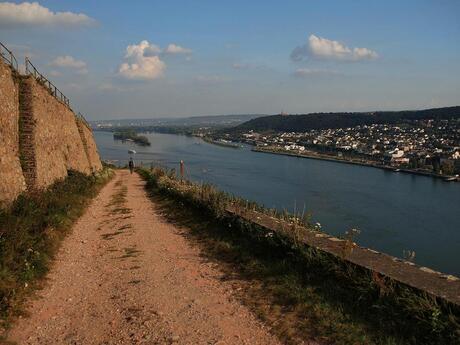 Wandeling bij Rüdesheim