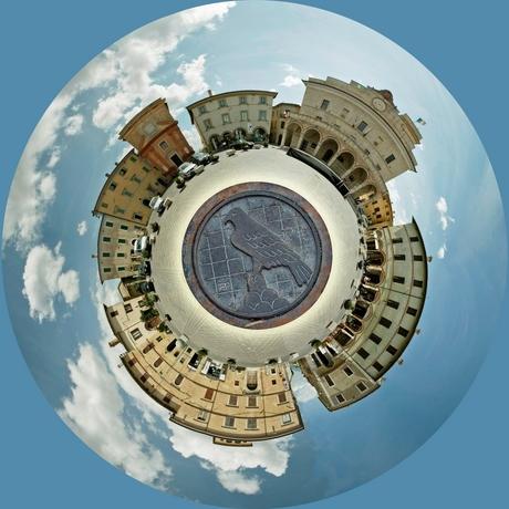 Little planet Montefalco