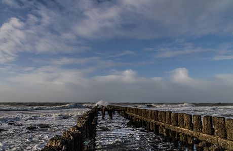 storm in Zeeland 1