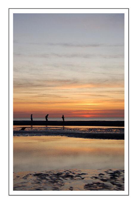 Running Sunset