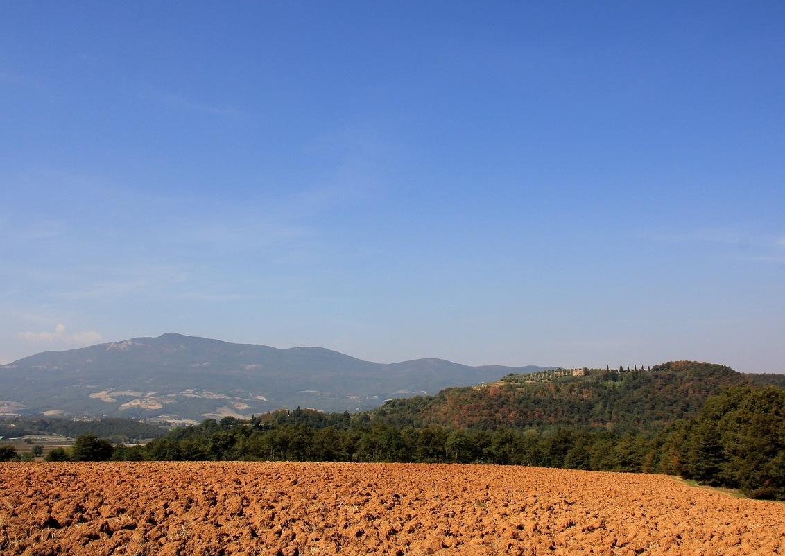 Tuscany - Vergezicht in Toscane - foto door Derine op 22-09-2012 - deze foto bevat: landschap, vergezicht, toscane