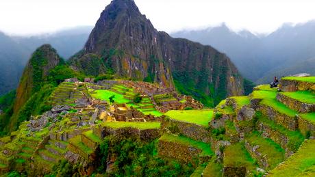 Machu-Picchu de oude Inca stad