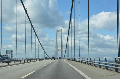 Denemarken Storebaelt bridge