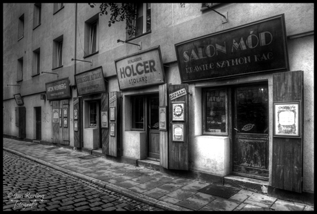 Joods Winkelstraatje in Kazimierz Krakow