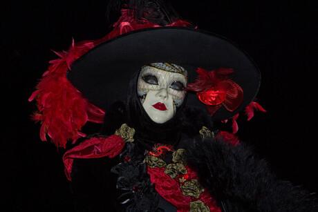 Portret. Carnaval in Venetië