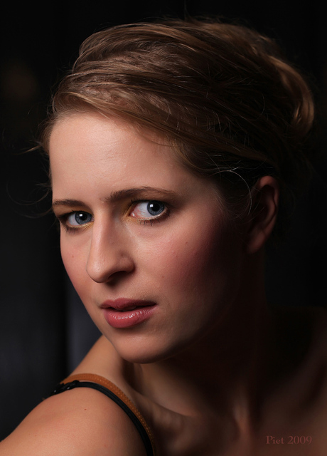 Model Claire.
