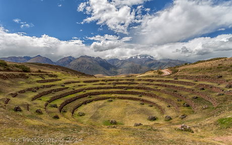 The Incan Agricultural Terraces of Moray (Peru)