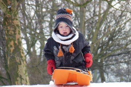 Kleinzoon als bobsleeër
