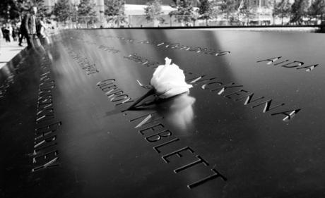9/11 Memorialsite - In herinnering...