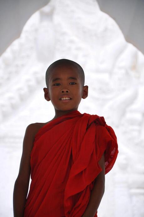 Jonge Birmeese monnik (2)