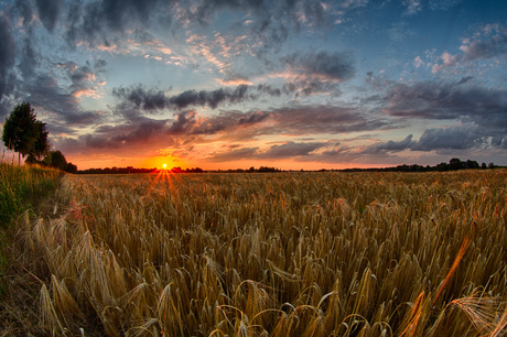 Margraten sunset