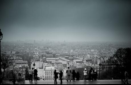 Parijs Uitzicht Sacre Coeur