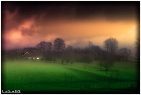 onrealistisch landschap