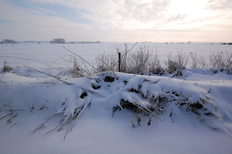 zon en sneeuw...