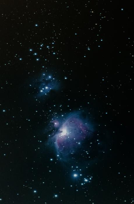 Orion en running man nevel