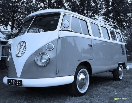 Fotograaf4U - VW Busje (zwart-wit)