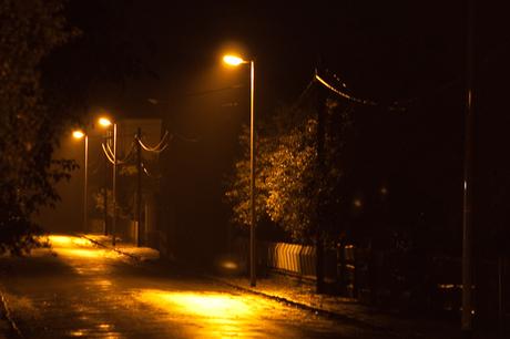 Street of east Germany