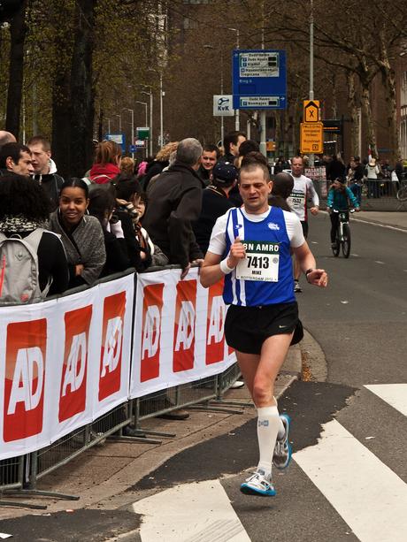 Rotterdam-marathon Onze held