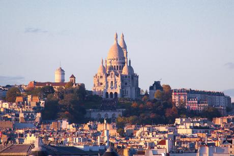 Sacré-Cœur op de heuvel Montmartre