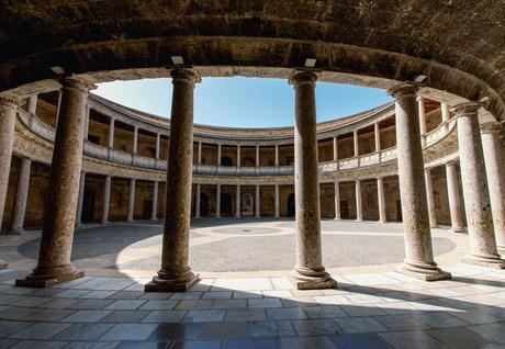 Palacio carlos v Granada Spanje