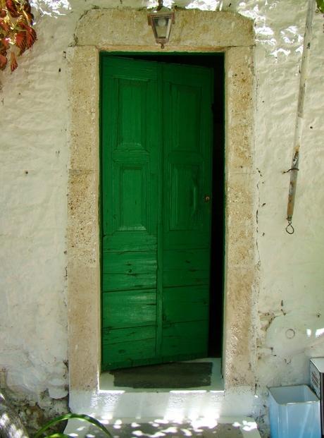 Groene deur Kos