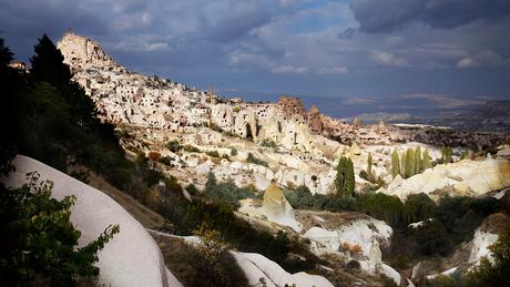 Cappadocië beleefd vanaf een terras