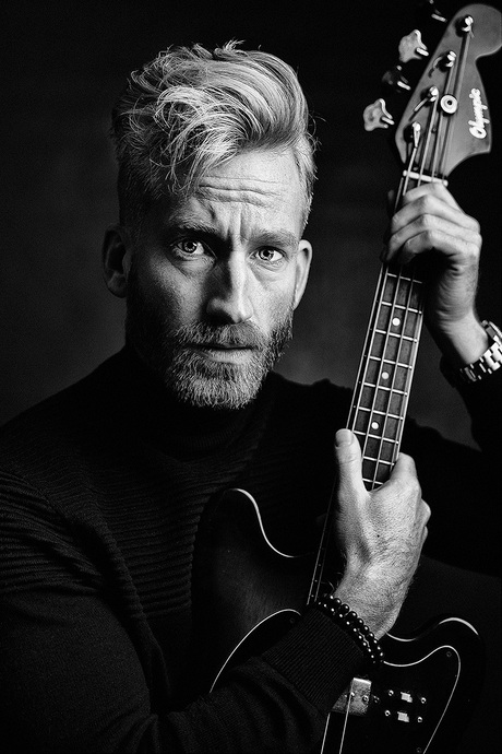 Wisse and his guitar