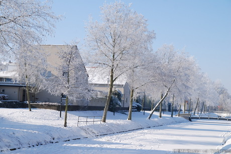 Winter in Hintham-Noord
