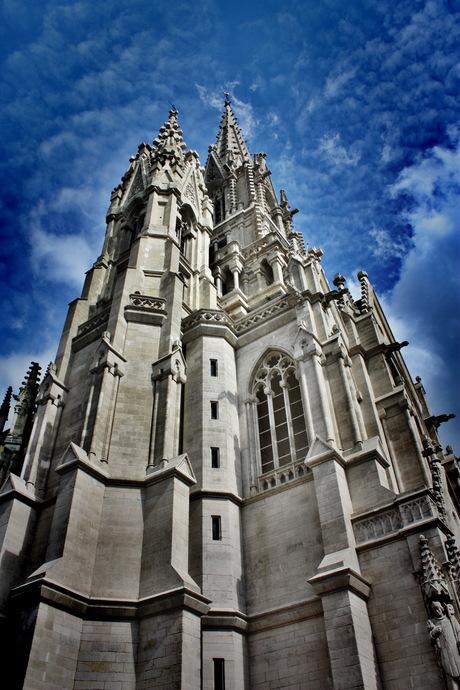 Kathedraal in Laken (Belgie)