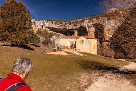 Kerkje in canon del rio Lobos