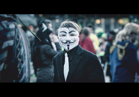 We are Anonymous. We are Legion. We do not forgive. We do not forget. Expect us