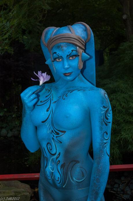 Een blauwtje....