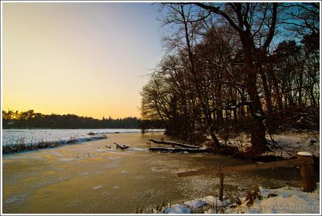 Winter aan de Mark