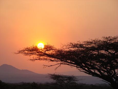 Zonsondergang Zuid Afrika