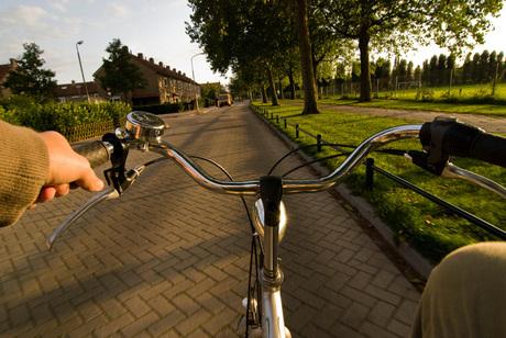 Verder fietsen