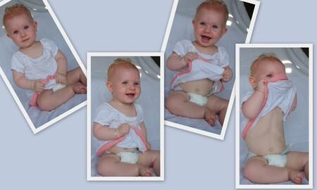Kiekeboe - Mijn lieve grapjes-maakster! - foto door mariah1982 op 02-07-2010 - deze foto bevat: baby 9 maanden